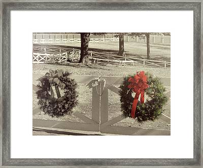 The Presley Paddock Framed Print by JAMART Photography