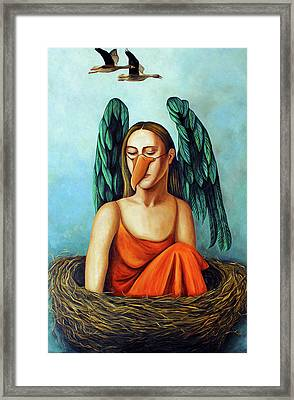 The Pretender Framed Print by Leah Saulnier The Painting Maniac