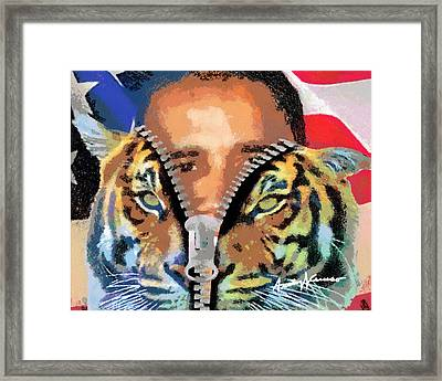 The Prez Framed Print by Anthony Caruso