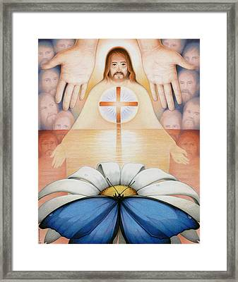 The Price And The Promise Framed Print