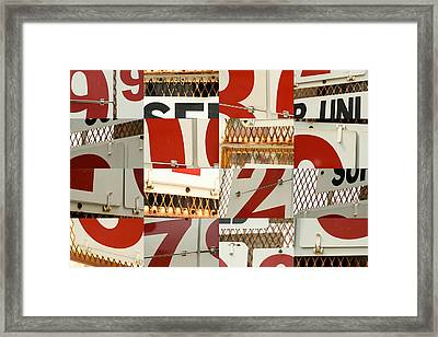 The Price Of Gas Framed Print