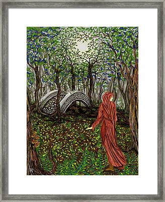The Priestess Of Ealon Framed Print