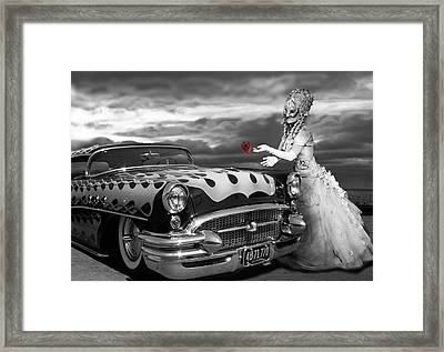 The Prince Of The Highway Framed Print by Larry Butterworth