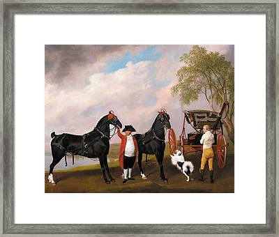 The Prince Of Wales's Phaeton Framed Print