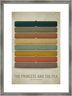 The Princess And The Pea Framed Print by Christian Jackson