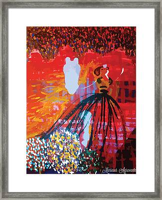 The Princess And The Pony Framed Print by Mariecor Agravante