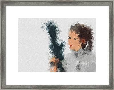 The Princess Framed Print by Miranda Sether