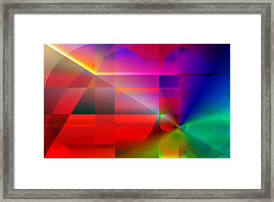 The Principles Of Life  Framed Print by Serge Averbukh