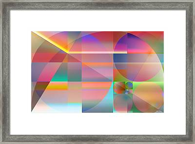 The Principles Of Life Framed Print