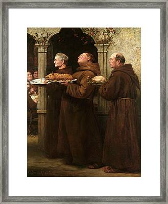 The Prior's Feast Framed Print