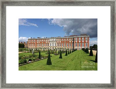 The Privy Garden Hampton Court Framed Print