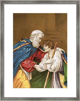 The Prodigal Son Framed Print by English School