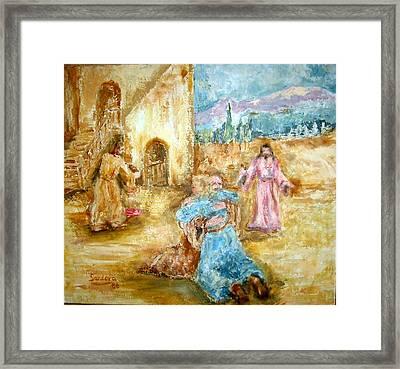 The Prodigal Son Framed Print by Joseph Sandora Jr