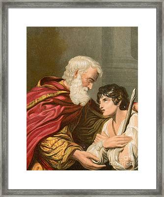 The Prodigal Son Framed Print by Lionello Spada