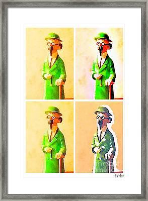 The Professor Framed Print