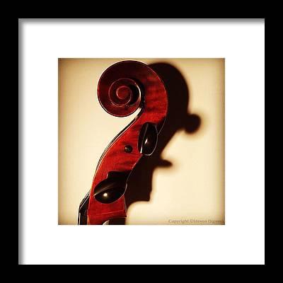 String Instruments Framed Prints