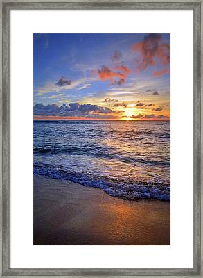Framed Print featuring the photograph The Promise Of A New Day by Tara Turner