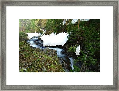 The Promise Of Things Framed Print by Jeff Swan
