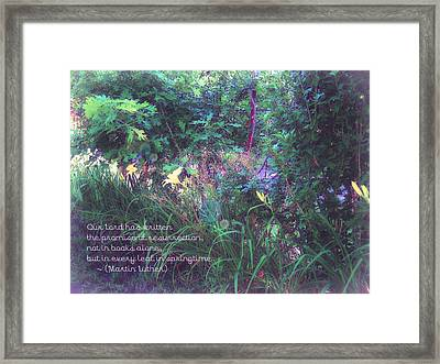 The Promise Spring Brings Framed Print by ARTography by Pamela Smale Williams