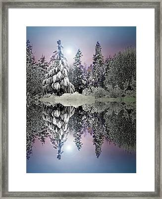 The Promises That Winter Brings Framed Print by Tara Turner