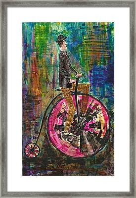 The Proper Cyclist Framed Print