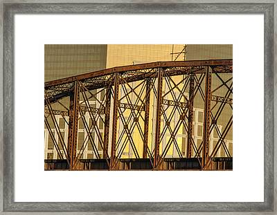 The Properties Of Space Framed Print by Jim Cook
