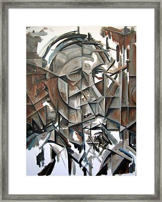 The Prophet - Session One Framed Print by Martel Chapman