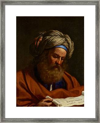 The Prophet Isaiah Framed Print by Celestial Images