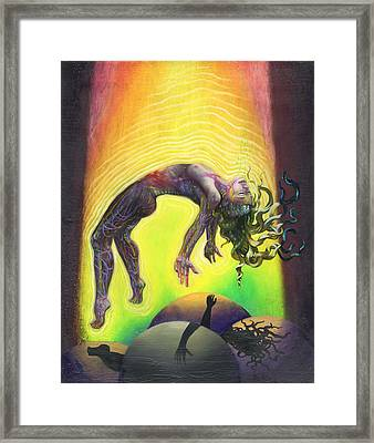 The Prophet Framed Print by Kd Neeley