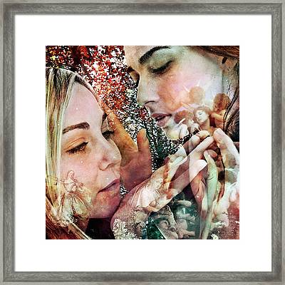 The Prophet On Beauty Framed Print by Barry Novis