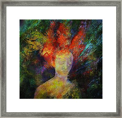 The Prophet Framed Print by Sue Reed