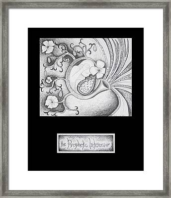 The Prophetic Intercessor Framed Print by Amy Parker
