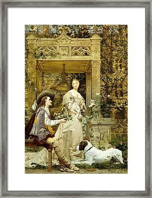 The Proposal Framed Print by Paul Alphonse Viry
