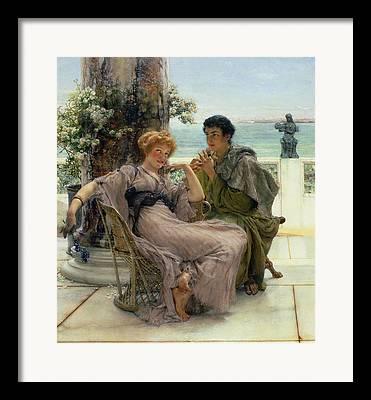 Marriage Proposal Framed Prints