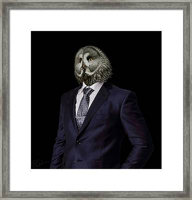 The Prosecutor Framed Print by Paul Neville
