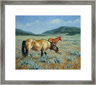 The Protector  Framed Print by Debra Mickelson