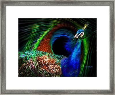The Proud One Framed Print by Carol Cavalaris
