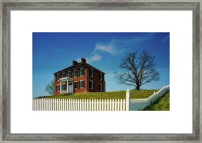 The Pry House - Antietam Framed Print
