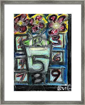 The Psychic Telephone Framed Print by Levi Glassrock