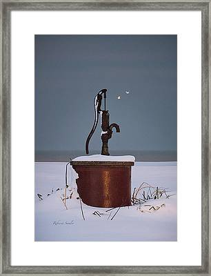 The Pump Framed Print