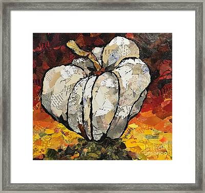 The Pumpkin Framed Print