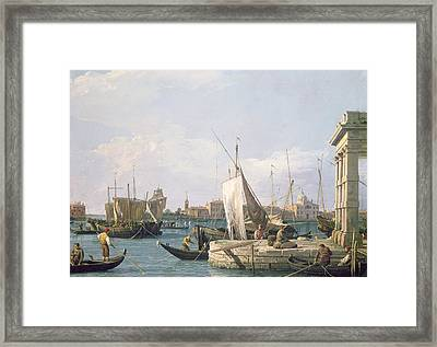 The Punta Della Dogana Framed Print