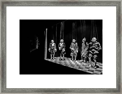 The Puppeta?s Observer Framed Print by Luis Sarmento