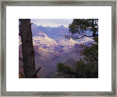 The Purple Grand Framed Print by Marna Edwards Flavell