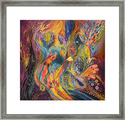 The Purple Rain Framed Print by Elena Kotliarker