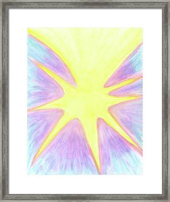 The Purpose Is More Light Framed Print