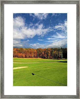 The Putting Green Framed Print by Phil Koch