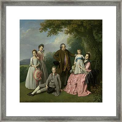 The Pybus Family Framed Print