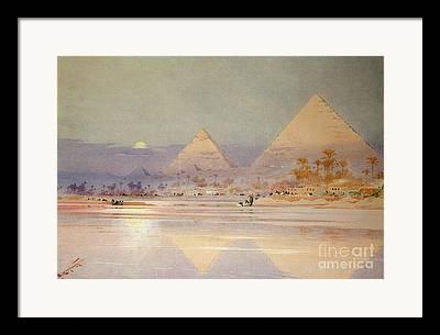 River Nile Framed Prints