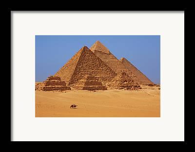 Pyramid Framed Prints